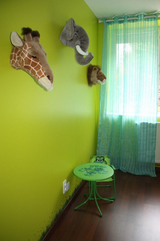 Decoration safari chambre enfant - Decoration chambre bebe jungle ...